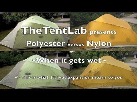 RugRat nylon vs polyester when wet video