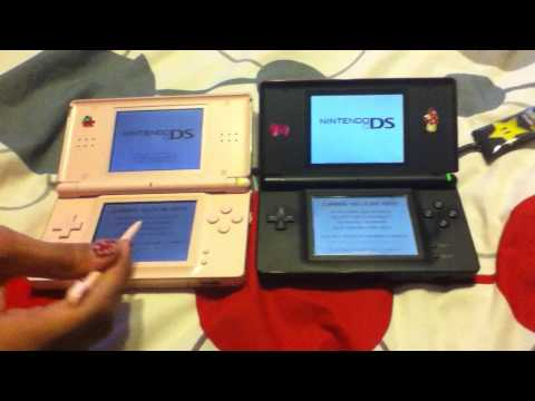 How to connect two Nintendo ds's together to play