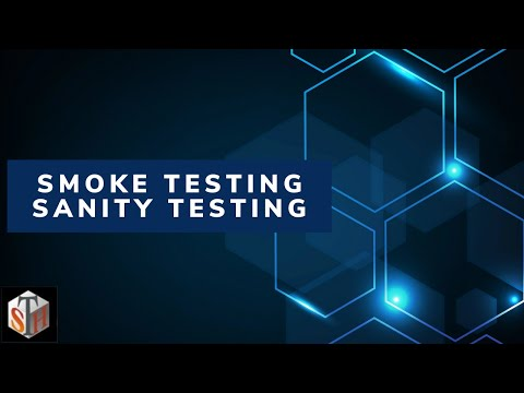 Smoke Testing Sanity Testing - Definition with Examples