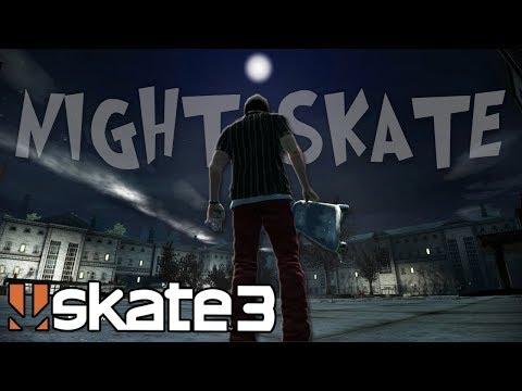 Skate 3: NIGHT SKATING at the ASYLUM?