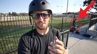 KID STEALS MY CUSTOM PRO SCOOTER AT SKATEPARK