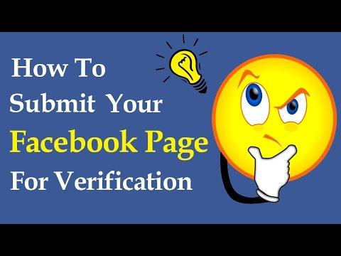 How to Submit Your Facebook Page For Verification - Get Verified Page 2017