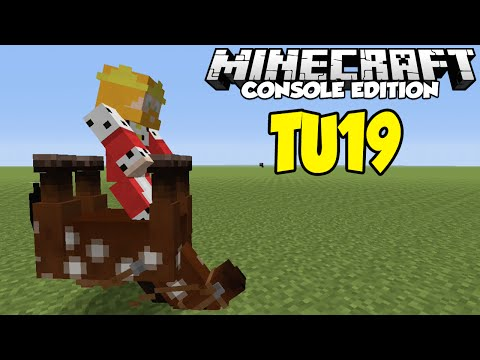 Minecraft [XBOX & PS3] TU19 - UPSIDE DOWN MOBS EASTER EGG ! (Tutorial How To)