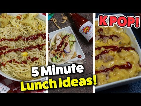 3 QUICK & EASY Protein Lunch Recipes