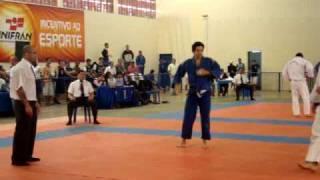 Academia Tomiyama Nos Jogos Regionais 2009 Luta Do Fabio Hipolito Ippon De Sode