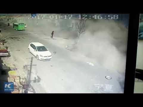 Road Accident//5Men Dead//Cctv Fotage Records