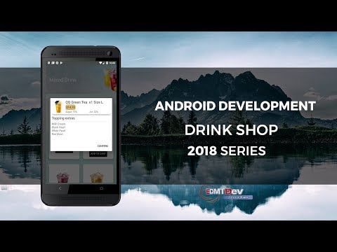Android Development Tutorial - Drink Shop App part 9 Create Room Database to save Cart