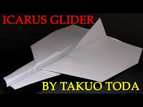 How to make Paper Glider That Flies Very Far, BEST Paper Planes in the world