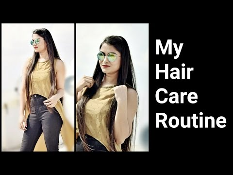 MY HAIR CARE ROUTINE!! Best Shampoo,Conditioner &Oil for my Hair/How to take care of long hair