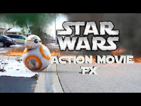 Star Wars Action Movie FX App Will Blow you away! Force Awakens Special Effects