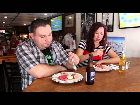 Pickled foods at Erich and Mickey's Goodtime Saloon