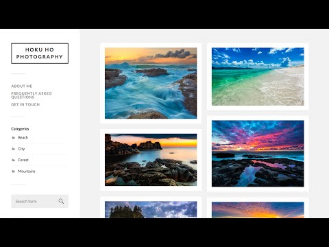 How to Make an Online Portfolio Website w/ WordPress | For Photographers, Designers, etc.
