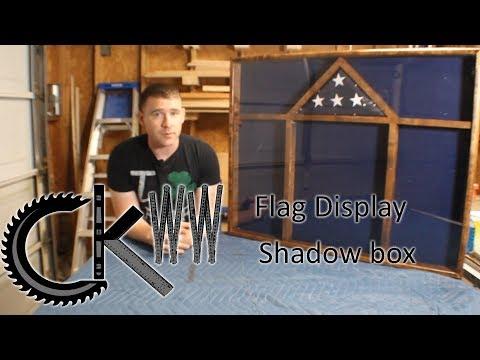 American Flag Display Shadow Box | CKWW