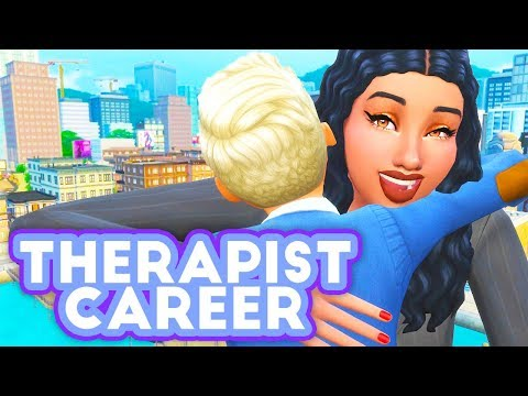 THERAPIST CAREER❤📝 // MOD REVIEW | THE SIMS 4