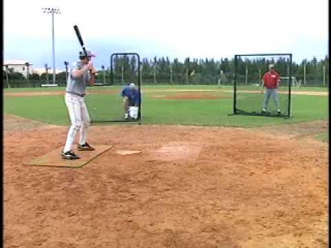 Opposite Field Hitting Drill