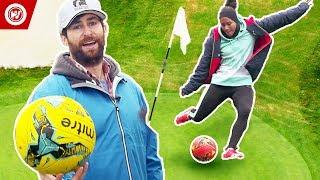 Scott Rogowsky Shows You Weird Sports | FootGolf