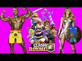 NOOBS PLAY CLASH ROYALE FROM START LIVE