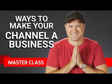 Making Your Channel a Business | Master Class #1 ft. Tim Schmoyer