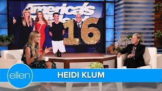 Heidi Klum Taught Howie Mandel How to Walk in High Heels