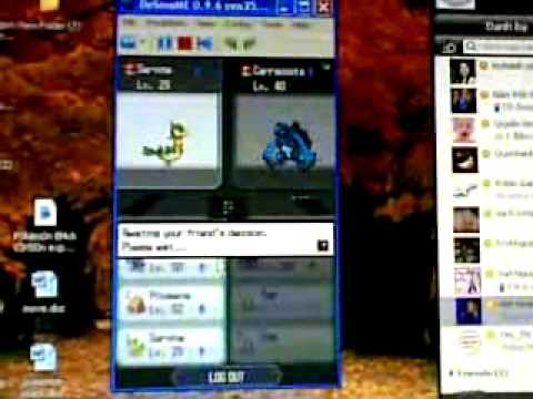 help me pokemon black wifi desmume.mp4