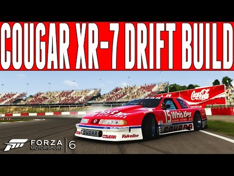 Forza 6 Drift Build : Mercury Cougar XR-7 Drift Build - FM6 DLC