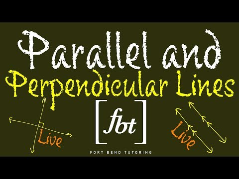 🔵 Writing Linear Equations: Parallel and Perpendicular Lines Live [fbt]