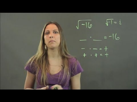 What Is the Square Root of a Negative Value Called? : Math Instruction