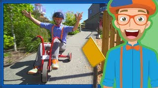 Blippi Playing at a Children's Museum | Colors for Toddlers