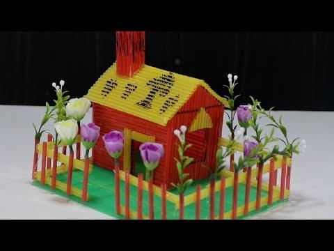 How to Make Plastic Pipe House Garden - DIY Pepsi Pipe House (KOLA PIPE HOUSE)