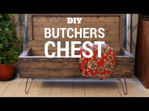 DIY Butchers Memory Chest