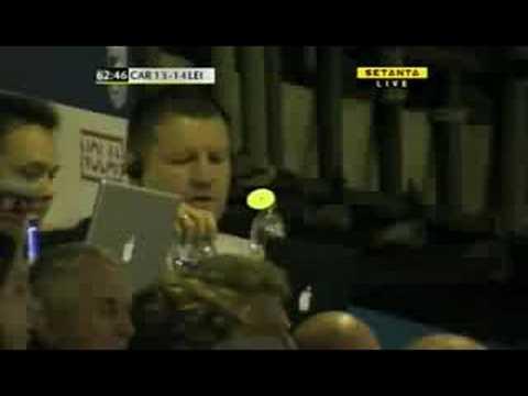Nacewa scores against Cardiff