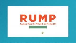 Tutorial: ¿Cómo acceder al Registro Único del Ministerio de Producción (RUMP)?