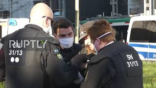 Germany: Several arrested at anti-lockdown protest in Chemnitz