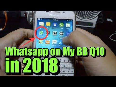 WHATSAPP on my BB10 in 2018