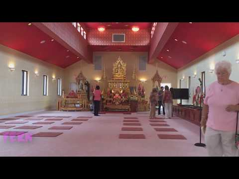 Visiting local Thailand temple
