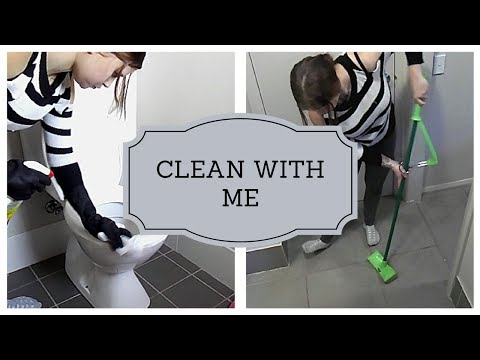 CLEAN WITH ME | GETTING RID OF GERMS