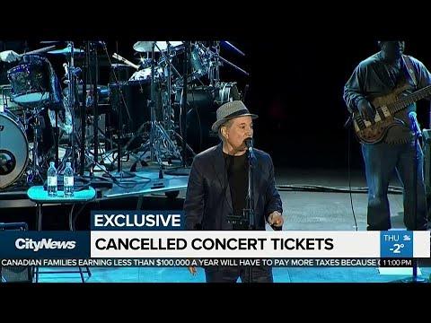 Ontario man upset after Ticketmaster revokes concert ticket