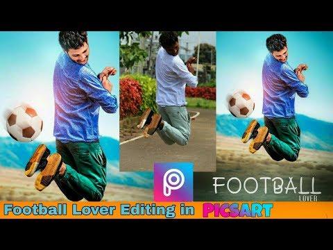 Football Lover Editing in PicsArt | PicsArt Football Lover Manipulation Tutorial | CB Edit Picsart