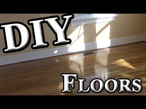 Refinishing hardwood floors yourself how much will you save