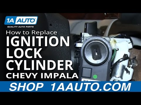 How To Install Replace Ignition Key Lock Cylinder Chevy Impala and other GM vehicles