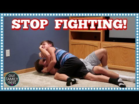 MOVING VLOG! AND THE BOYS KEEP WRESTLING!