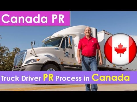 Canada PR For Truck Driver | Truck Driver Salary in Canada