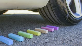 Crushing Chalk! - Car Crush ASMR Compilation