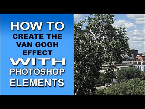 The Van Gogh Effect in Photoshop Elements