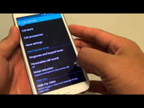 Samsung Galaxy S5: How to Suppress Background Noise During a Call