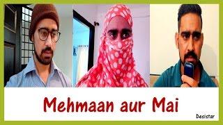 Mehmaan Aur Mai | Funny Video | Haryanvi Comedy | Desistar | PK
