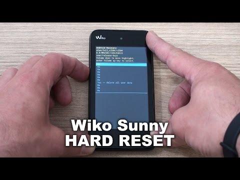 Wiko Sunny hard reset