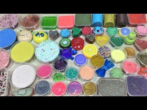 MIXING STORE BOUGHT SLIME AND HOMEMADE SLIMES!! SLIMESMOOTHIE! SATISFYING SLIME VIDEO PART 12 !