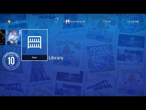 PlayStation ® Store 10th Anniversary Theme PS4