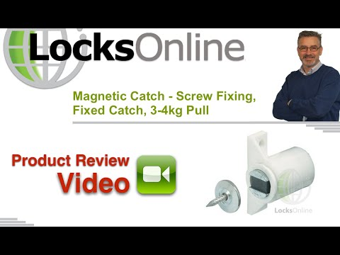 Mini Magnetic Catch for Securing Cupboard and Cabinet Doors   LocksOnline Product Review